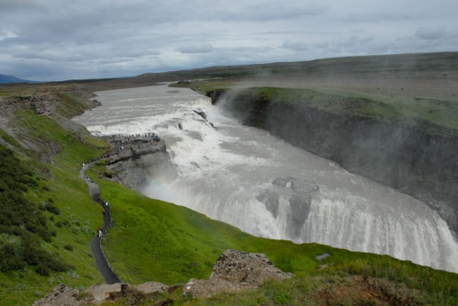 Gullfoss in all is glory!